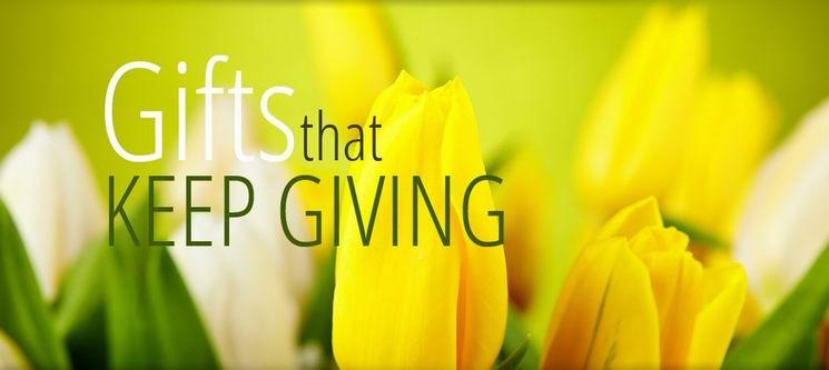 Gift Basket Flowers Banner