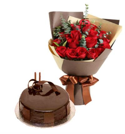 2lb Cake Bouquet