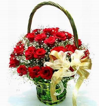 Lucky Rose Basket