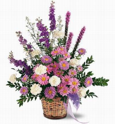 Floral Basket Mix
