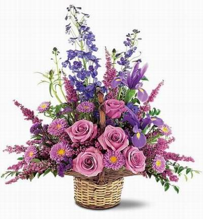 Purple Floral Mix