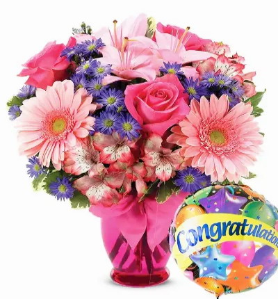 Pink Congratulations