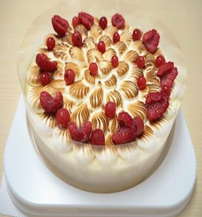 Gateau Meringue cake