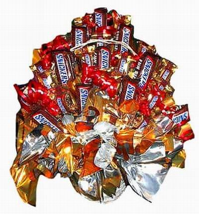Snickersbouquet